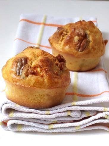 muffin formaggio noci