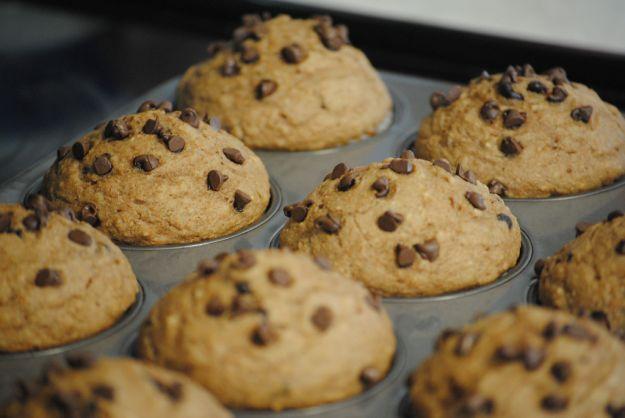 muffin integrali senza zucchero
