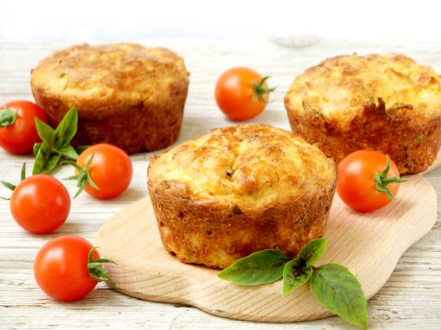 muffin salati pomodorini