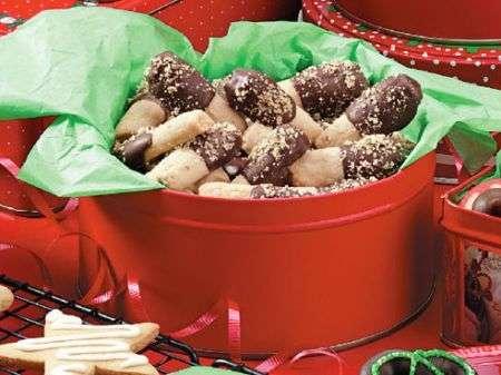 Scatola di biscotti di Natale