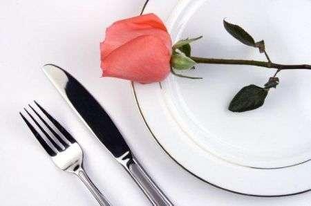 Menu san valentino romantico