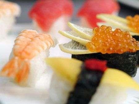 pesce crudo giapponese