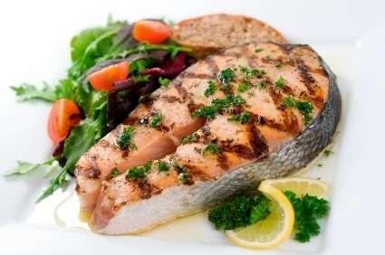 salmone grigliato con spezie