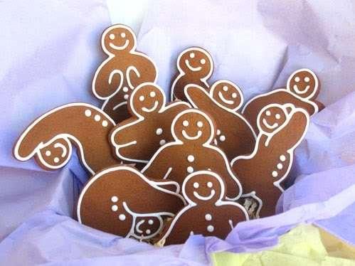 I biscotti di pan di zenzero, dolci di Natale