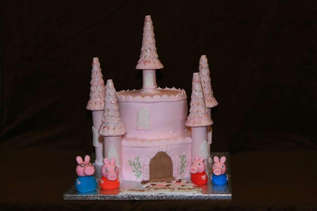 Torta castello di Peppa Pig
