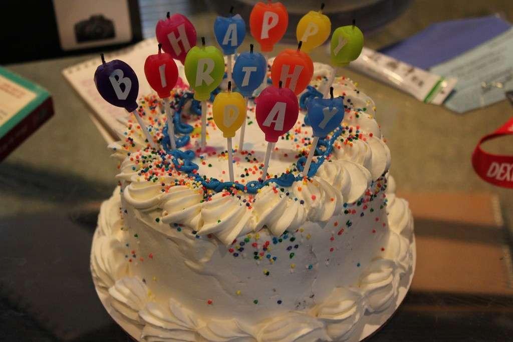 Torta gelato per compleanno