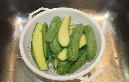 Le zucchine lessate