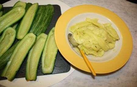 Zucchine da riempire