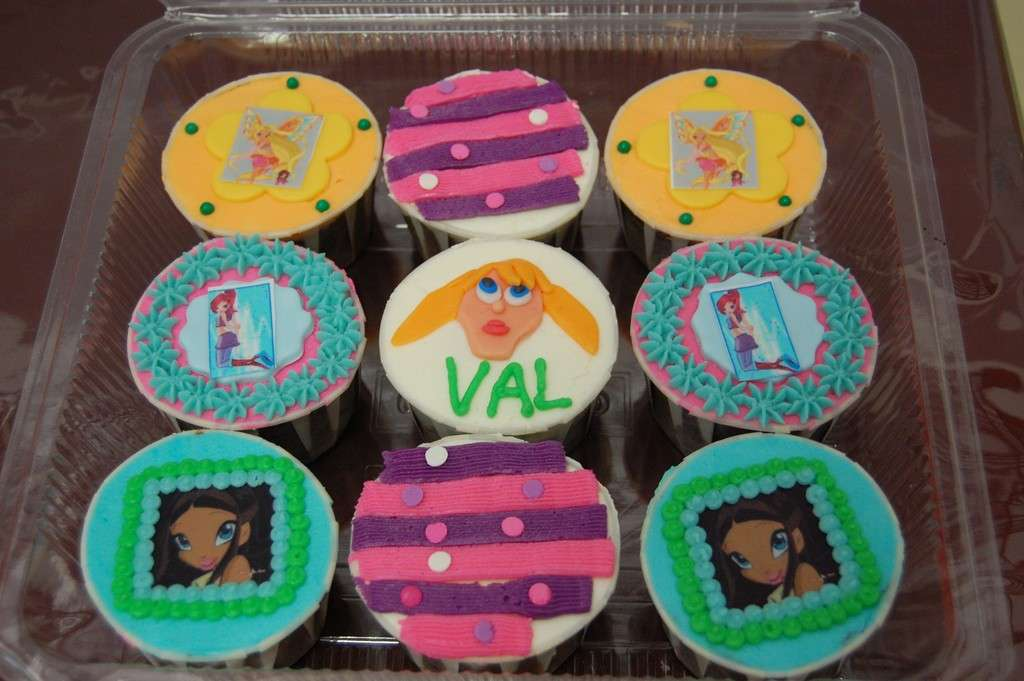 Cupcakes Winx artigianali