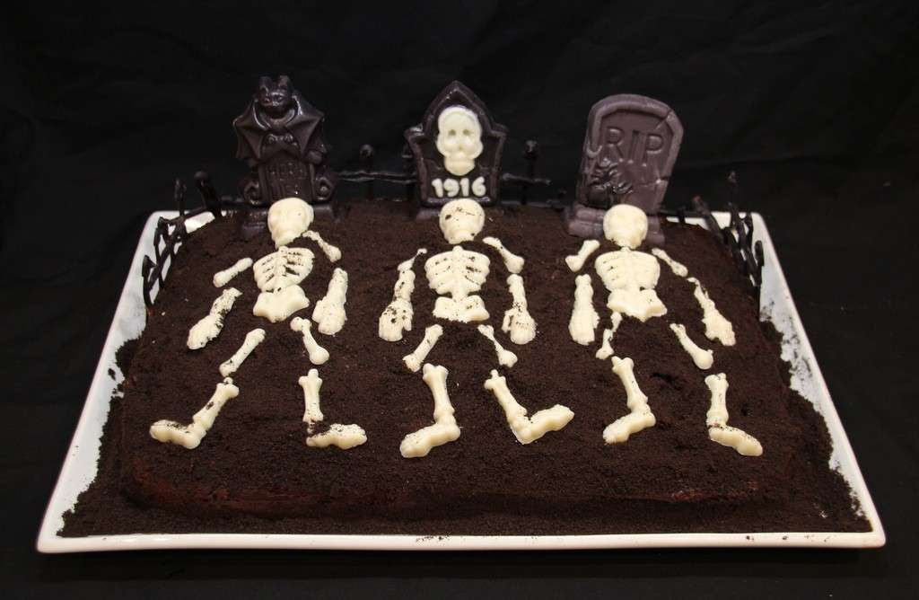 Cemetery cake