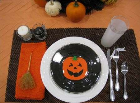 Decorazione per cena di halloween