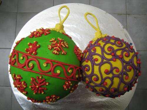 Dolci decorazioni per la torta