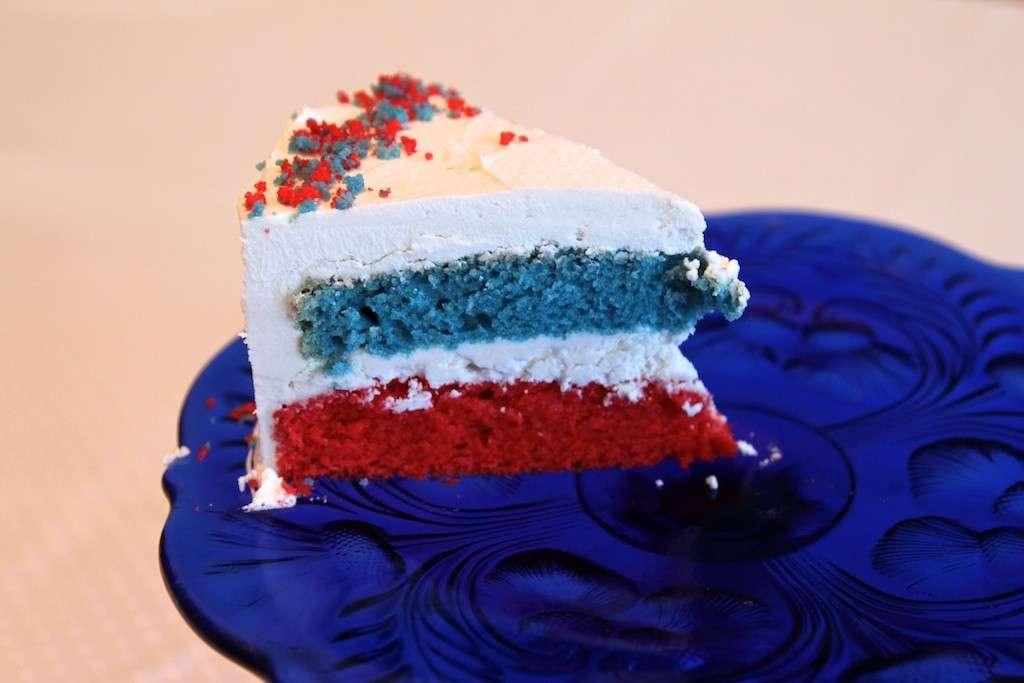 American harlequin cake