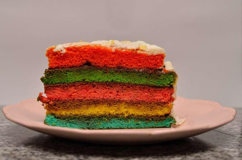 Arlecchino's cake