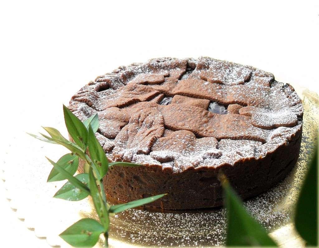 Bilancia - Crostata al cioccolato e arancia