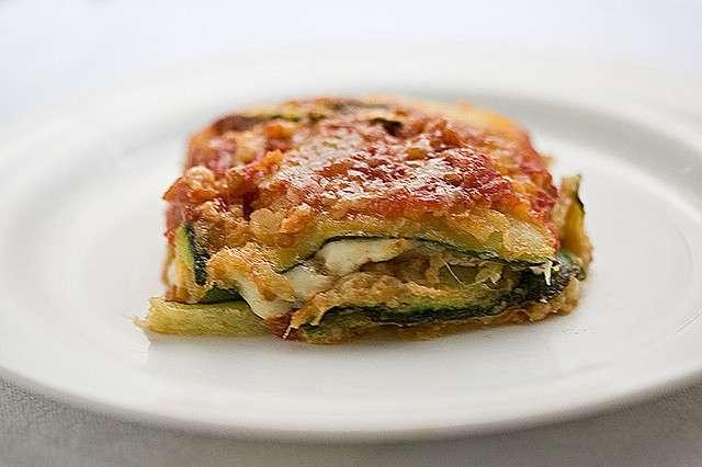 Parmigiana con zucchine