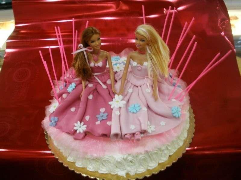 Barbie and friend come decorazione