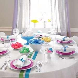Addobbi per la tavola di Pasqua