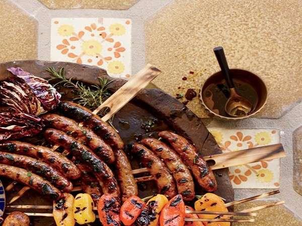 Barbecue di carne mista