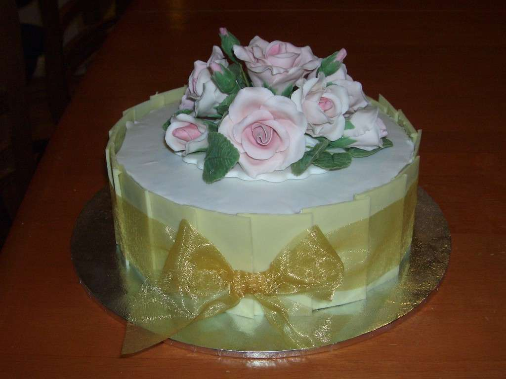 Bouquet di rose come decorazione