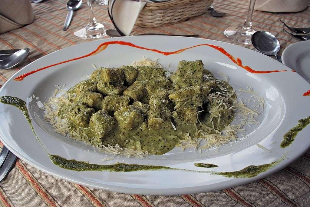 Gnocchi di quinoa con pesto