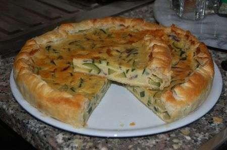Torta rustica con le zucchine