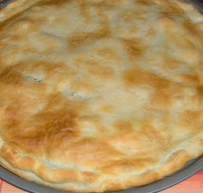 Torta salata con pasta brisee