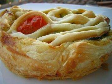 Torta salata di pomodori