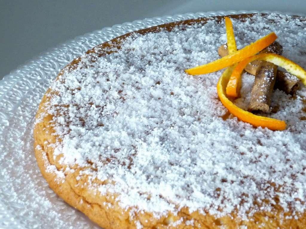 Arancia e cannella per la torta
