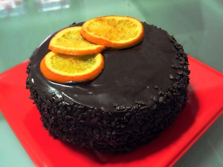 Copertura di cioccolato fondente per torta al cioccolato