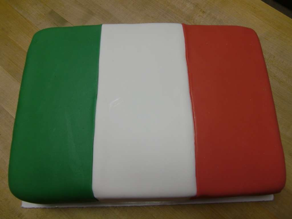 Decorazione in pasta di zucchero per torta