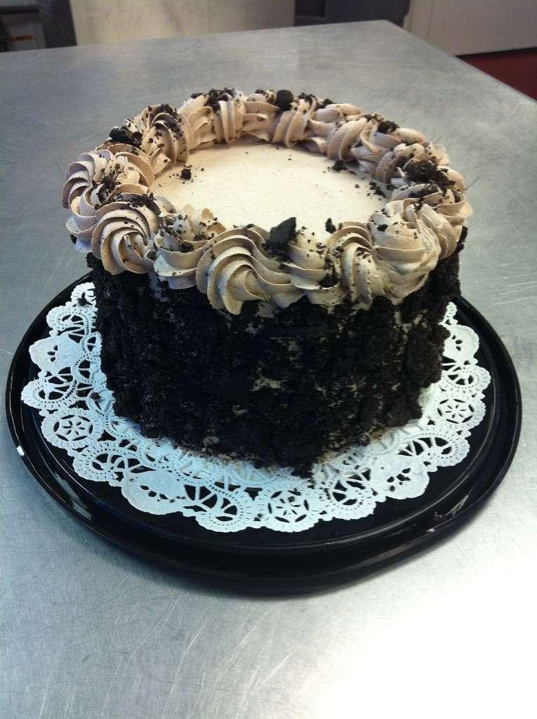 Elegante torta Oreo