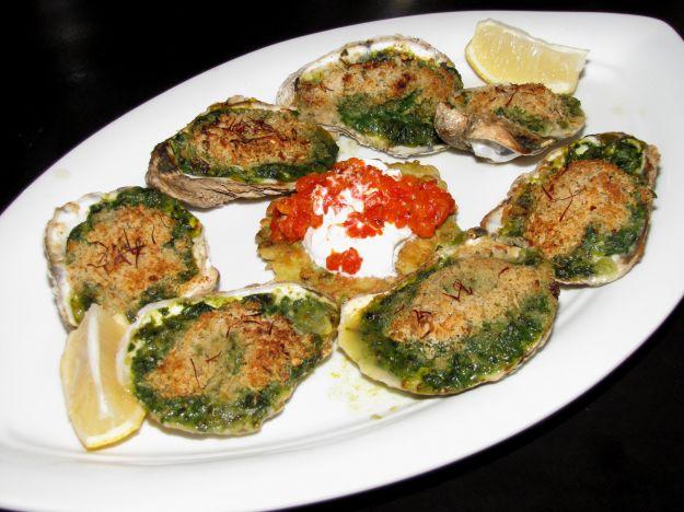 ostriche alla fiorentina