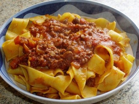 pappardelle al cinghiale ricetta toscana