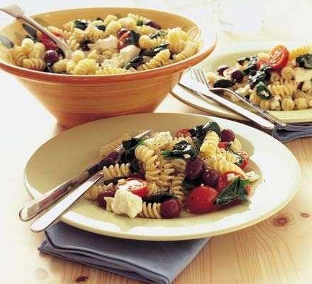 pasta fredda insalata greca