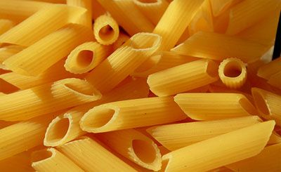Penne dorate