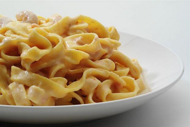 pasta salmone