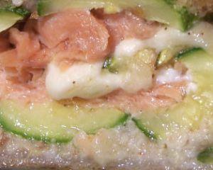 Pasticcio di salmone e zucchine