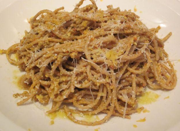 pesto sicialiano pasta