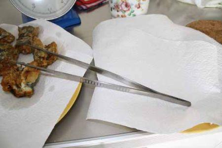pinza da cucina