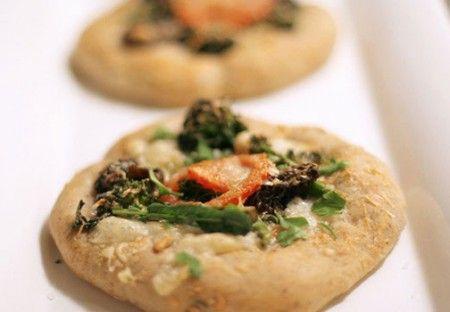 pizzette con verdure
