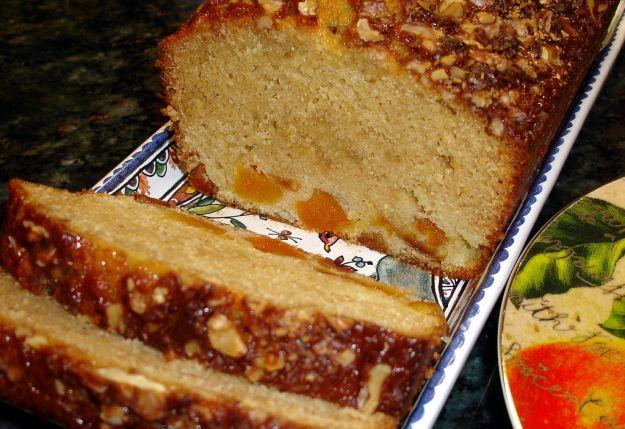 plumcake di arance e albicocche