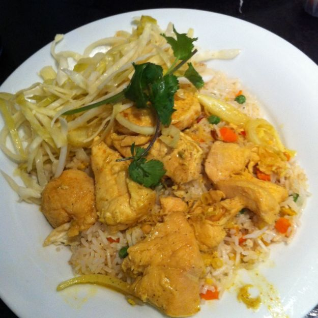 pollo curry e ginger
