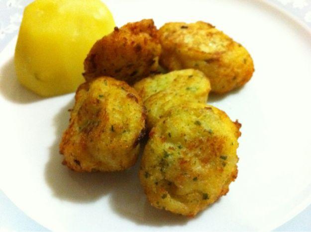 polpette baccalà patate