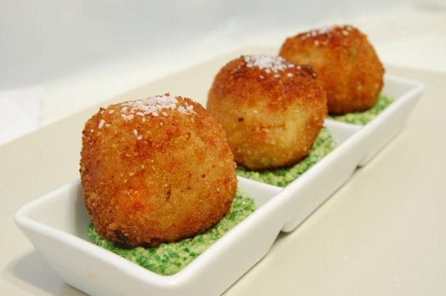 polpette patate cuore verde