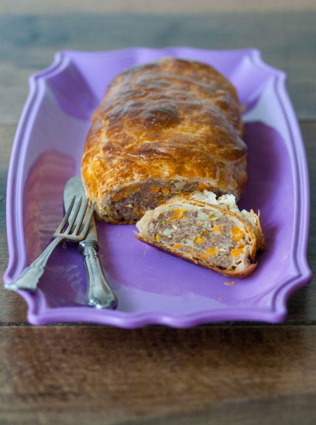 polpettone in crosta con carote