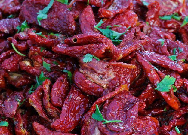 pomodori secchi con rucola