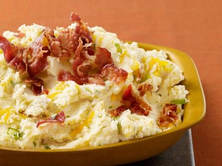 pure di patate con bacon