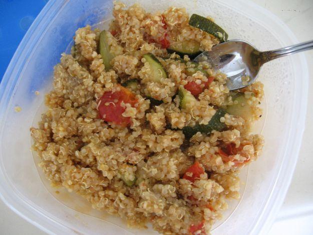 Quinoa con zucchine