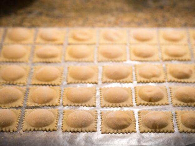 ravioli baccala patate